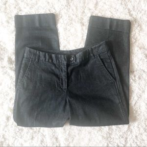 Talbots Cropped Stretch cuffed Jeans. size 4